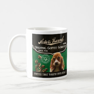 Artois Jagdhund-Marke - Organic Coffee Company Tasse