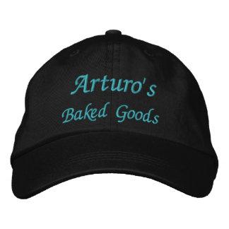 Arturo, gebackener Waren u. mehr Bestickte Kappe