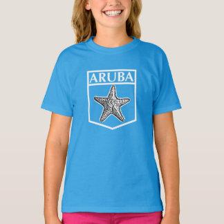 Aruba Island Design - Girls' Hanes TAGLESS® T-Shir