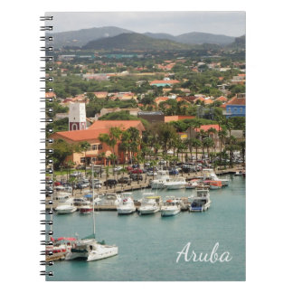 Aruba-Jachthafen Spiral Notizblock