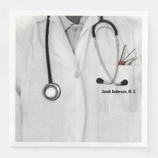 Arzt Papierserviette