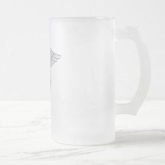 Ärztliche Bemühung Mattglas Bierglas
