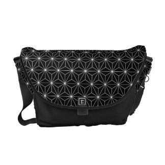 Asanoha japanische Muster-Bote-Tasche B Kurier Taschen