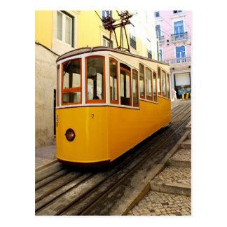 Ascensor des Kanals, des Lissabons, des Portugals, Postkarte