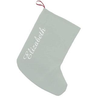 Aschen-Grau-Normallack fertigen es besonders an Kleiner Weihnachtsstrumpf