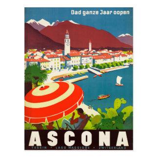 Ascona die Schweiz - Vintages Postkarte