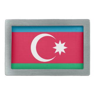 Aserbaidschan-Flagge Rechteckige Gürtelschnallen
