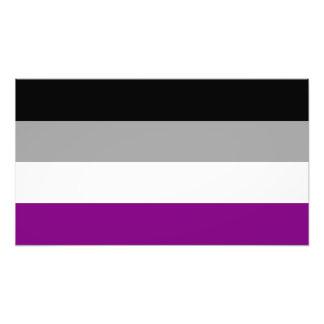 Asexuale Stolz-Flagge Kunstphoto