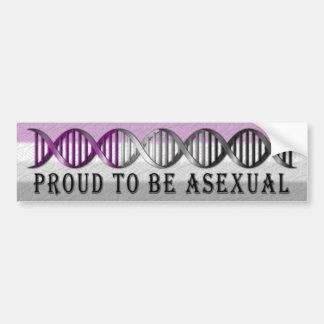 Asexualer Stolz DNS Autoaufkleber