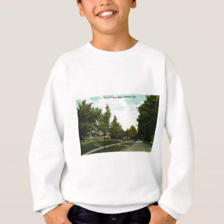 Ashtabula Ohio Aussicht-Straßen-Grüße Sweatshirt