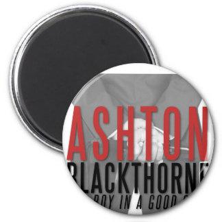 Ashton Blackthorne Magneten Runder Magnet 5,1 Cm