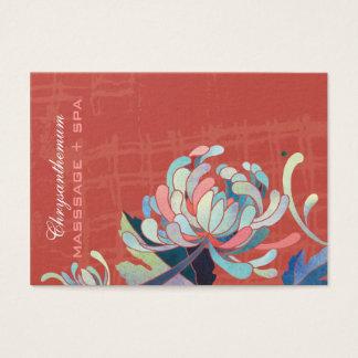 Asiatische Art-Mama-rote Termin-Karten Visitenkarte