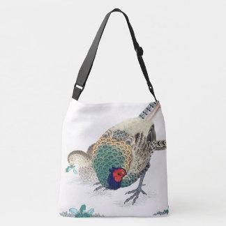 Asiatische Fasan-Vogel-Tier-Tier-Taschen-Tasche Tragetaschen Mit Langen Trägern