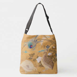 Asiatische Fasan-Vogel-Tier-TierTaschen-Tasche Tragetaschen Mit Langen Trägern