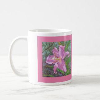 Asiatische Lilien-Tasse Tasse