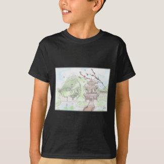 Asiatische Pagode T-Shirt