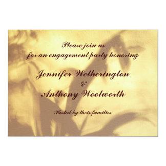 Asiatisches Motiv-Verlobungs-Party 12,7 X 17,8 Cm Einladungskarte