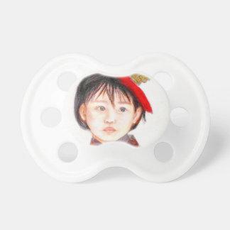 Asiatisches Ostkind Baby Schnuller