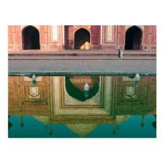 Asien, Indien, Uttar Pradesh, Agra. Auf den 2 Postkarte