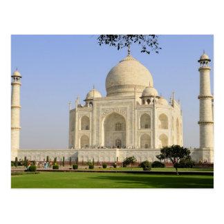 Asien, Indien, Uttar Pradesh, Agra. Das Taj 7 Postkarte