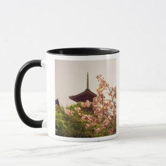 Asien, Japan, Kyoto, Kiyomizu Tempel im Frühjahr Tasse