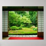 Asien, Japan, Kyoto. Zen-Garten 2 Poster