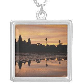 Asien, Kambodscha, Siem Reap, Angkor Wat (B. 12. Versilberte Kette