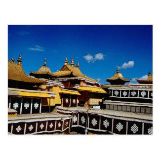 Asien, Tibet, Lhasa, Potala-Palast alias Rot Postkarte