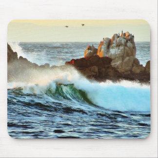 Asilomar setzt Wellen-Ozean-Dämmerung auf den Mousepads