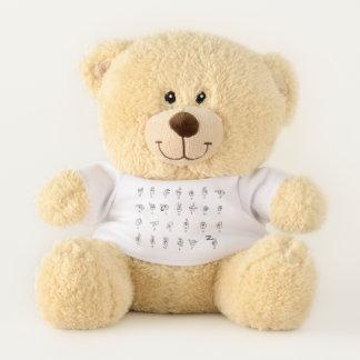 Asl-Diagramm-Teddybär Teddybär