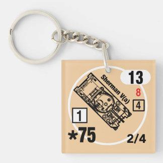 ASL Sherman V (A) Keychain Fob Schlüsselanhänger