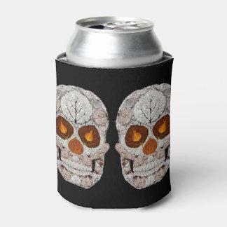Aspen-Blatt-Schädel 11 Dosenkühler