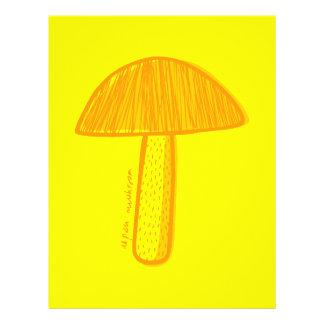 Aspen-Pilz-Gekritzel-Kunst 21,6 X 27,9 Cm Flyer