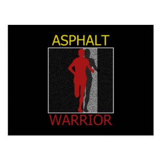 Asphalt-Krieger Postkarte