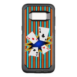 Asse auf Retro Hintergrund OtterBox Commuter Samsung Galaxy S8 Hülle