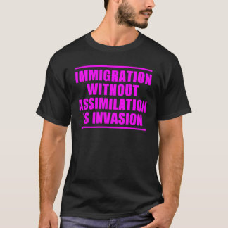 Assimilations-nicht Multikulturalismus T-Shirt