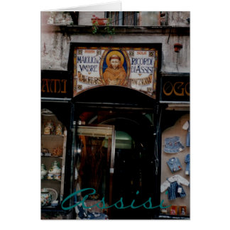 Assisi Umbrien Grußkarte