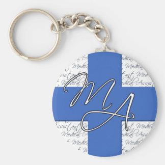 Assistenzarzt keychain schlüsselanhänger