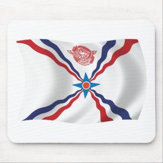 Assyrian Nations-Flagge Mousepad