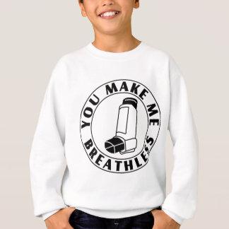 Asthma - atemlos sweatshirt