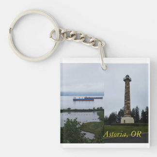 Astoria Oregon Columbia River Keychain Schlüsselanhänger