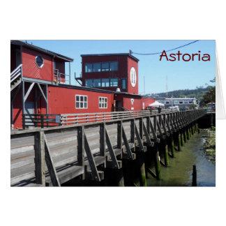 Astoria, Oregon Mitteilungskarte