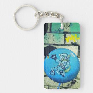 Astro Miezekatze Keychain Schlüsselanhänger