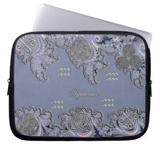Astrologie ~ keltischer Wassermann-mystische Laptop Sleeve