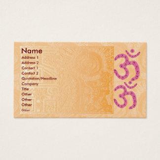 Astrologie n, die Practioner heilt Visitenkarte