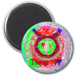ASTROLOGIE Sammlung Runder Magnet 5,1 Cm