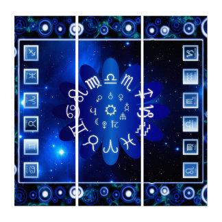 Astrologie Triptychon