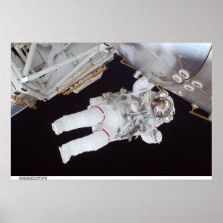 Astronaut Nicole Stott Poster