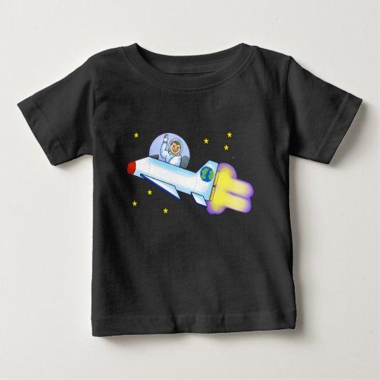 Astronauten-Kleinkind-T - Shirt