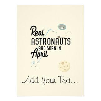 Astronauten sind geborene im April Zg6v6 Karte